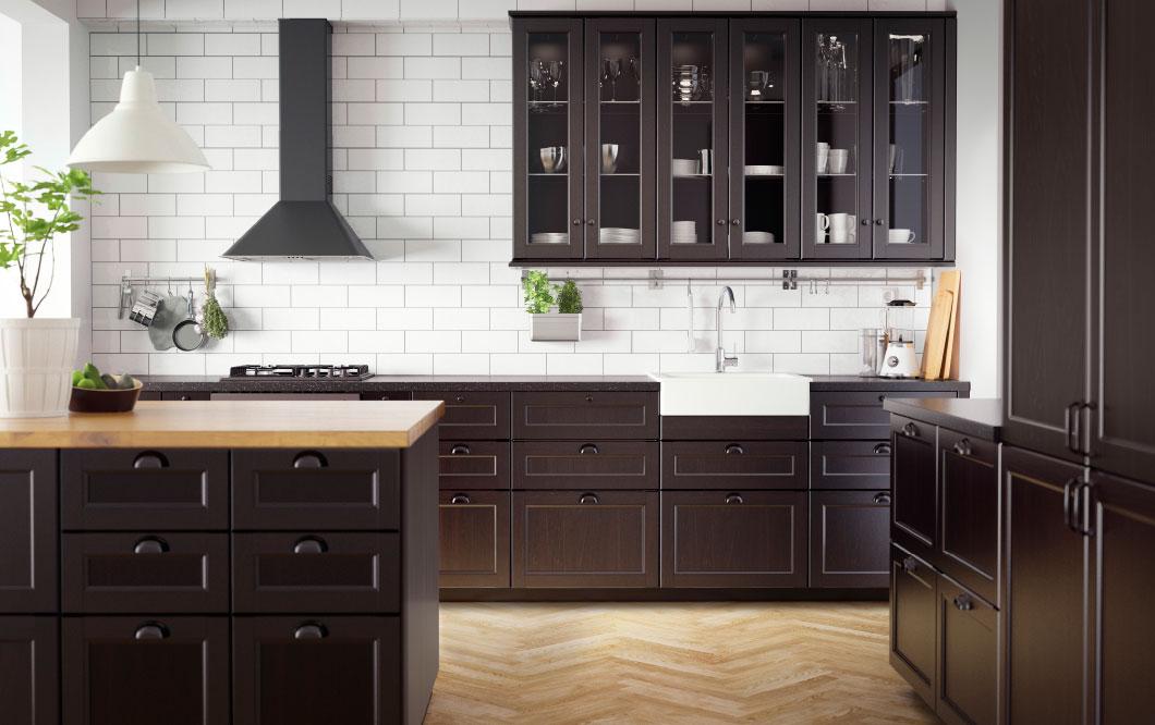 Zwarte keuken IKEA Metod - voorbeelden en inspiratie zwarte keukens