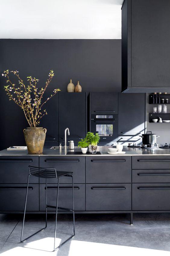 Zwarte keuken VIPP - inspiratie en voorbeelden