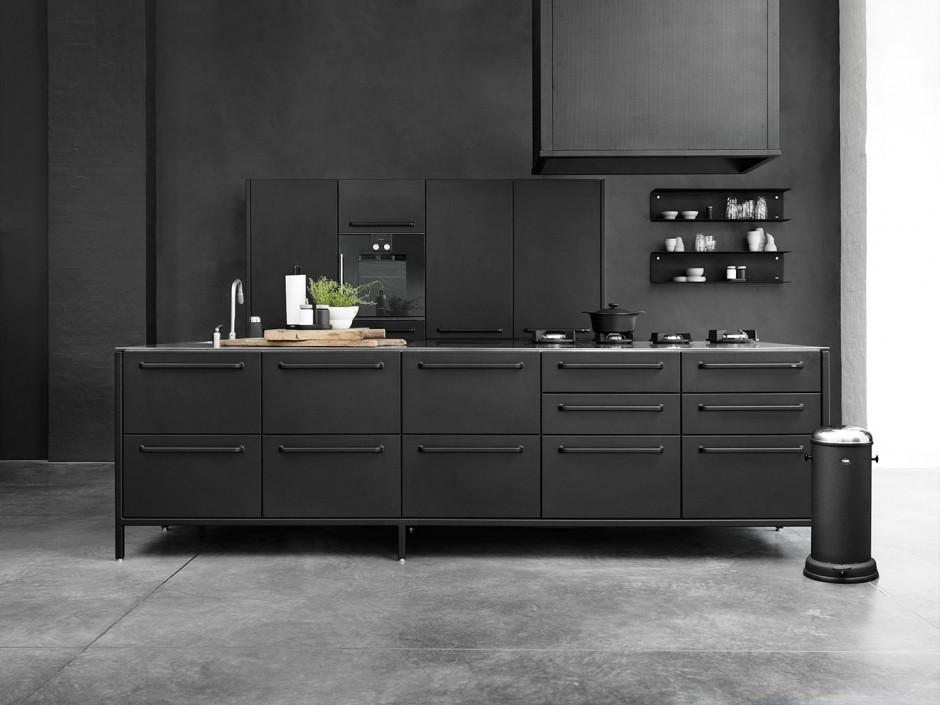 Zwarte keuken vipp kitchen concept