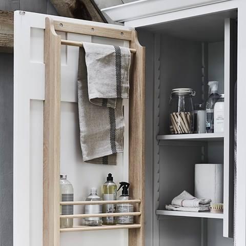 Neptune kast voor bijkeuken of waskamer-laundry room. Chichester meubel - Marin Zoon Interior Design