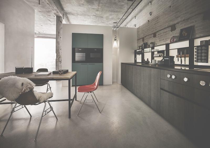 Eiken keuken NX620 van next125 met praktische nissenkast #next125 #keuken