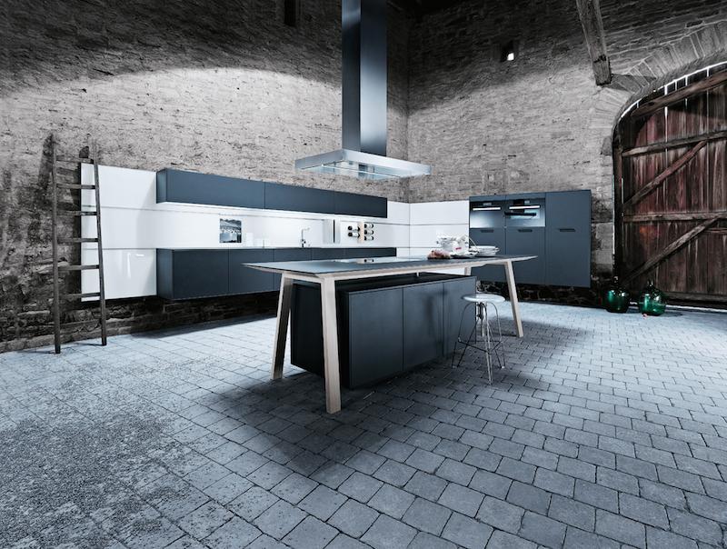 Kooktafel NX 500 van next125. Functioneel en uniek kookeiland. Een echte blikvanger in de keuken #next125 #kooktafel #kookeiland #inductie