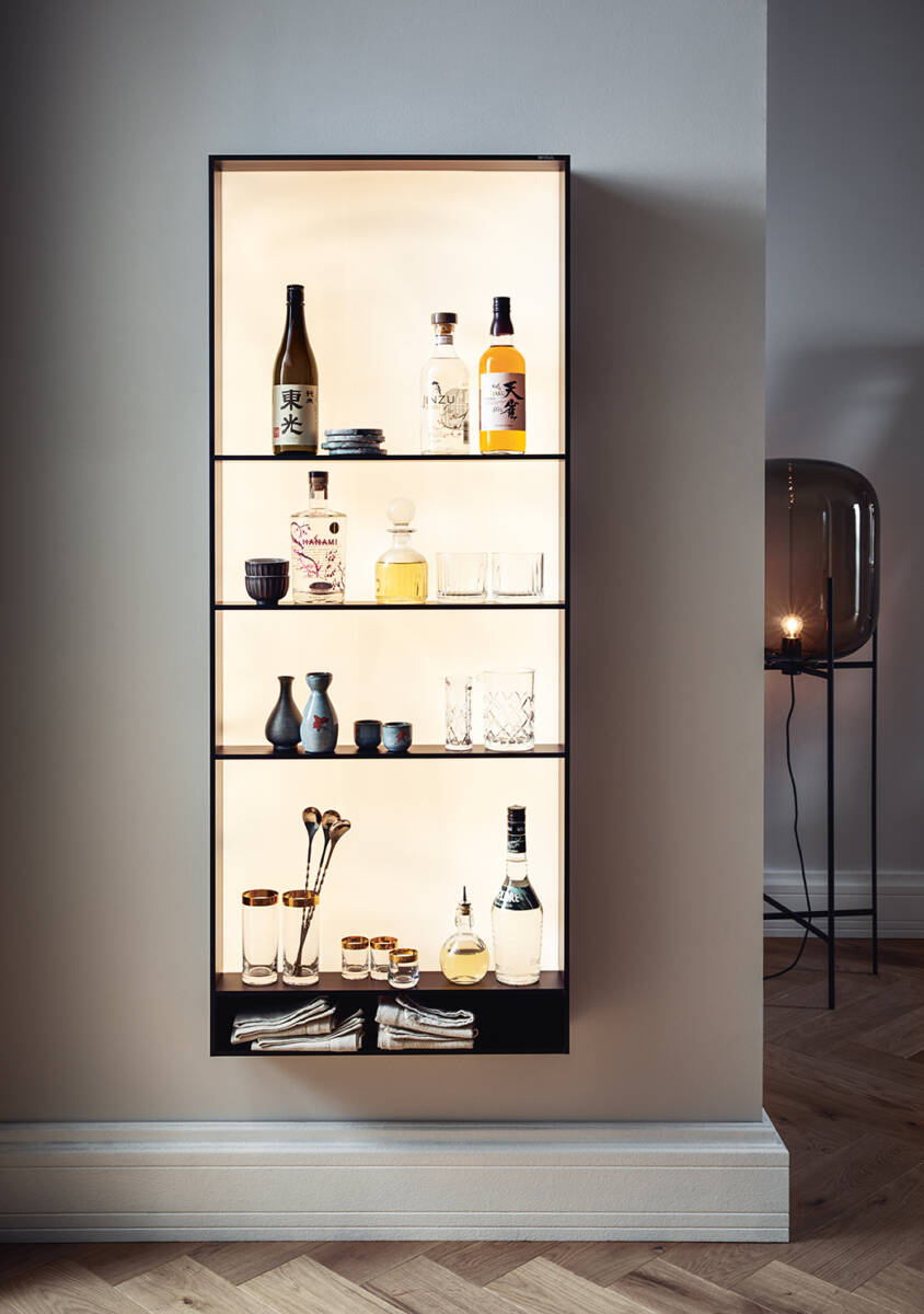 Kast als eyecatcher in de keuken. next125 framewall #next125 #framewall #keukenkast #keuken #keukenidee