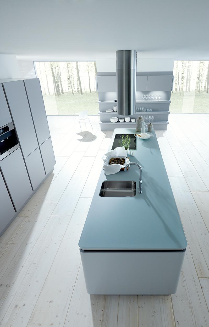 Modern design - keuken NX502 in steengrijs next125