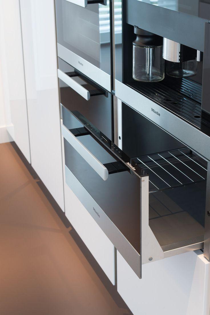 Miele inbouwapparatuur in Italiaanse design keuken van Snaidero in Bleiswijk - via Tieleman Keukens