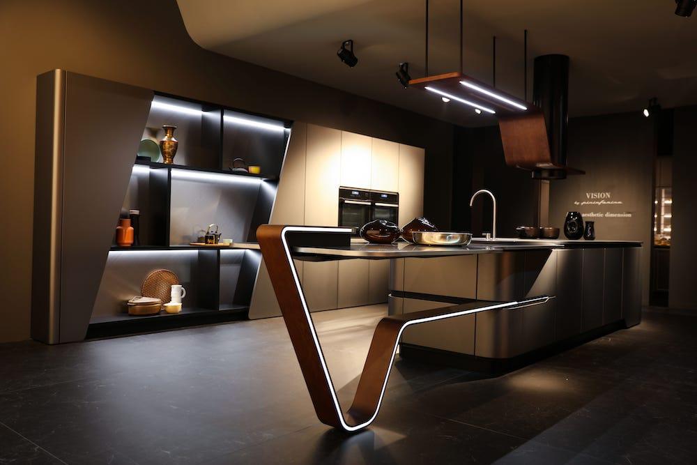 Designkeuken Snaidero Vision by Pininfarina design via Tieleman keukens #design #keuken #madeinitaly #keukendesign #snaidero #tielemankeukens