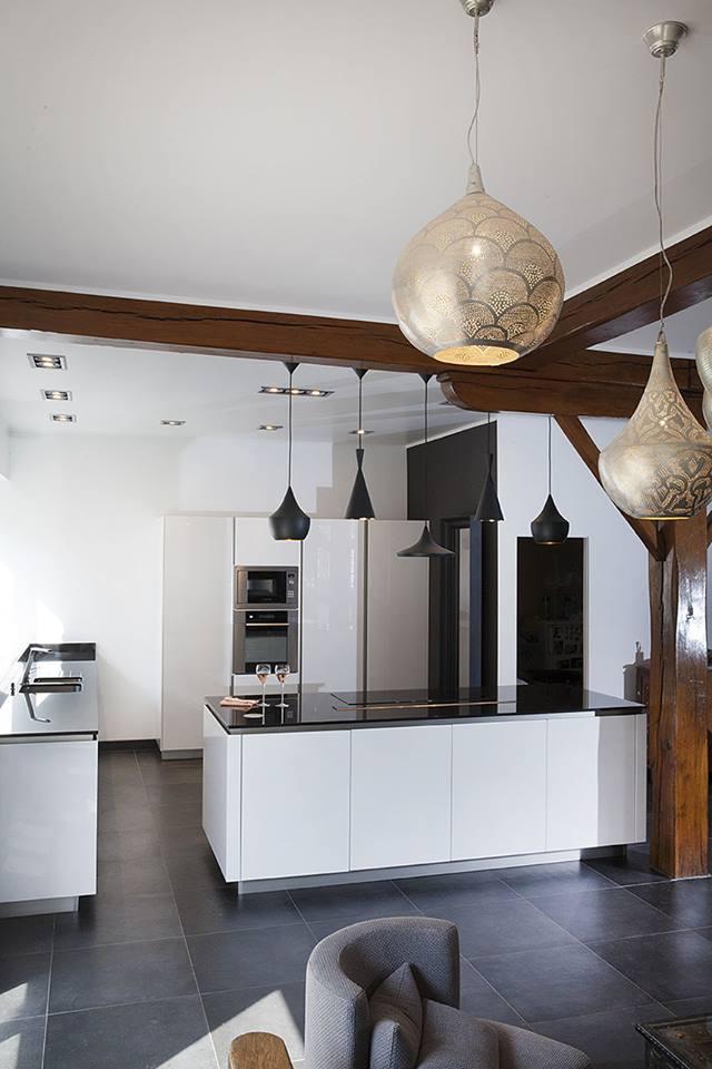 Snaidero greeploze witte designkeuken product in beeld startpagina voor keuken idee n uw - Mode keuken deco ...