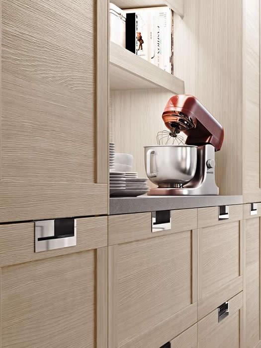 Snaidero Lux keukenkasten hout