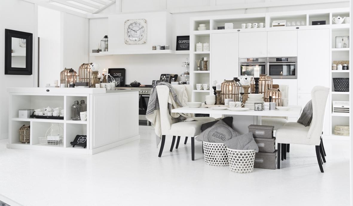 Witte keuken van Riverdale