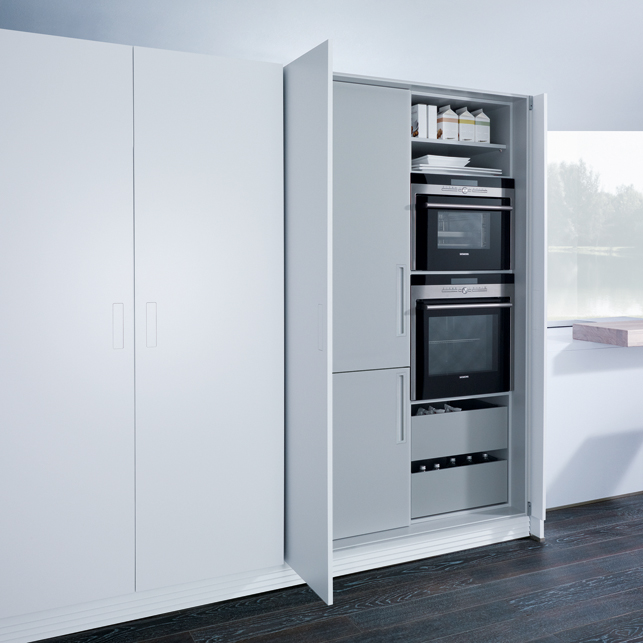 Witte Keuken Met Grijs Werkblad : Witte Greeploze Keuken Met Grijs Werkblad : Witte keuken voorbeelden