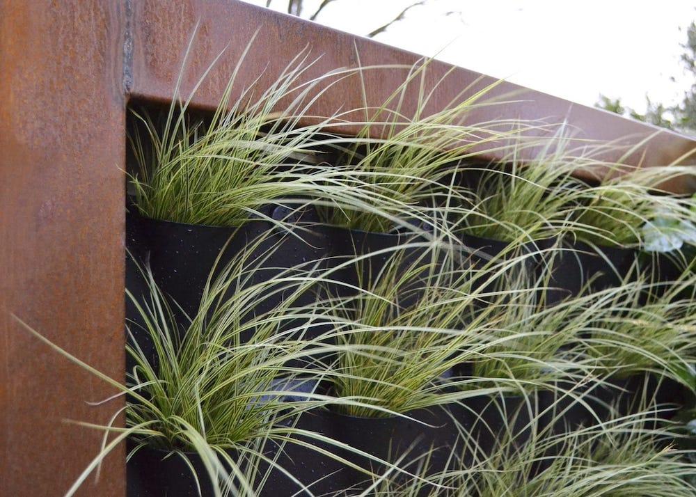 Zeno Green Wall - verticaal tuinieren - groene schutting #plantenbakken #greendivider