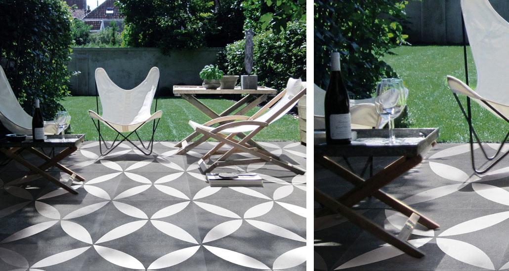Sierbestrating u0026 terrasplanken Startpagina voor tuin ideeu00ebn : UW-tuin ...
