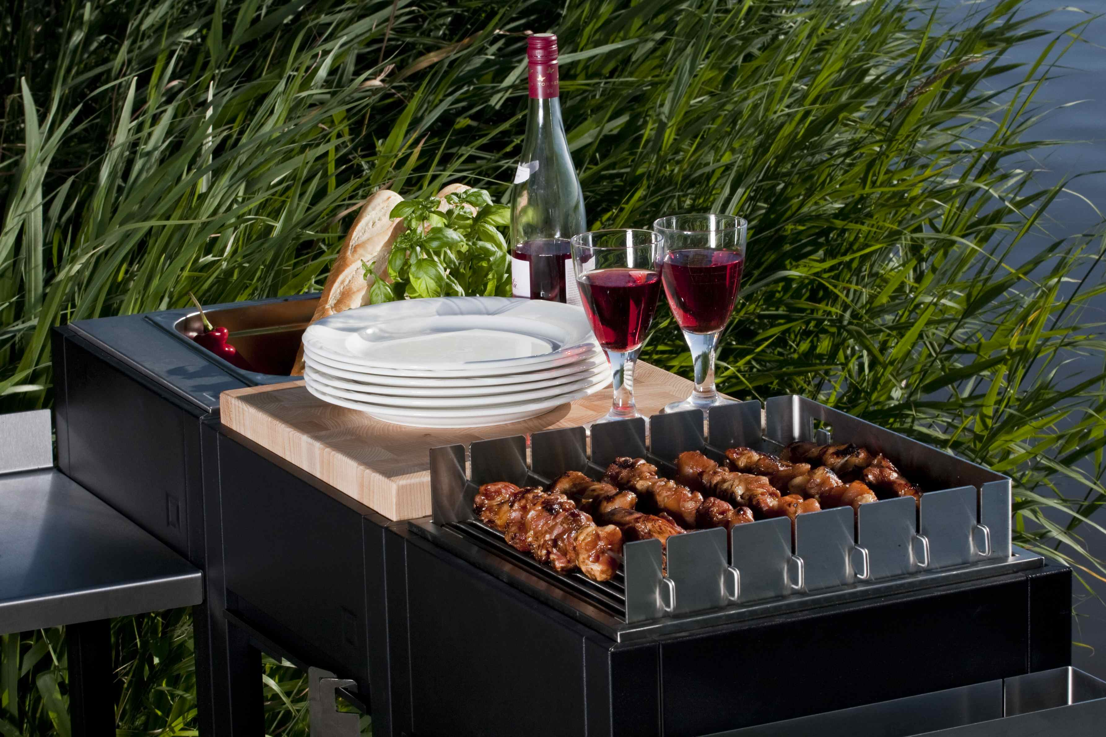 Outdoor luxury! OneQ modulaire buitenkeuken & BBQ #blog #tuin