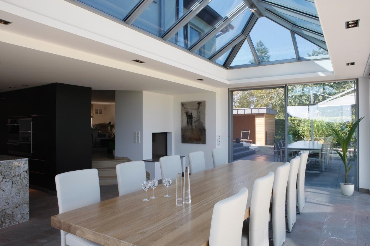 Voorbeelden Aanbouw Keuken : Bekijk hieronder voorbeelden van lichtstraten in serre of aanbouw