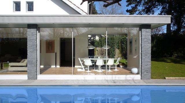 Aanbouw Keuken Serre : Serre glaspuien Minimal Windows Busscher serrebouw
