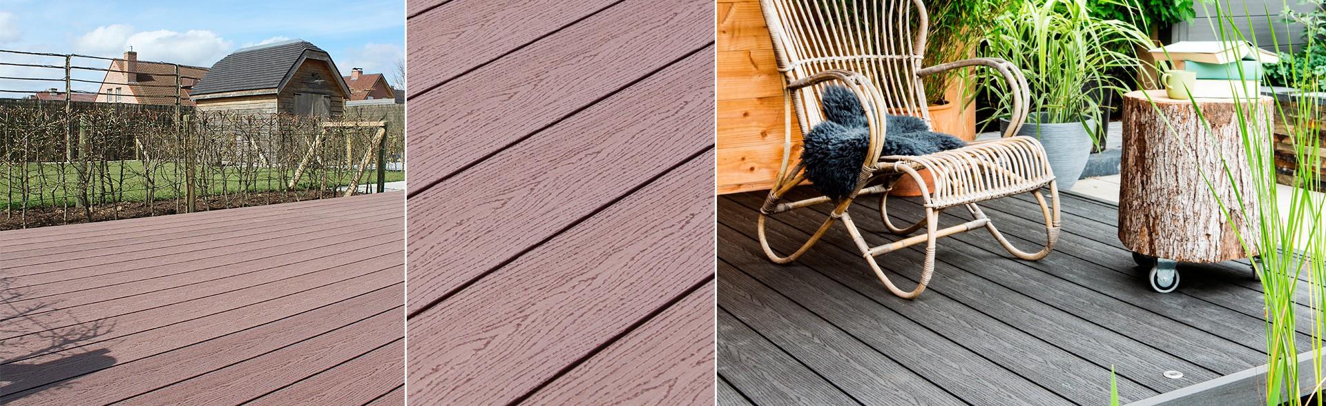 Terrasplanken van houtcomposiet - via Duofuse