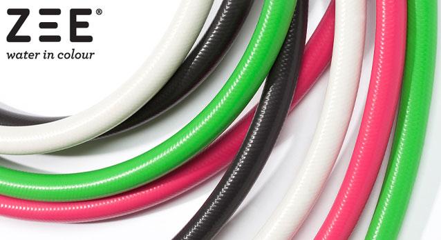 Tuinslangen in uni-kleuren van ZEE