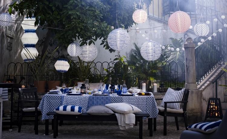 Tuinverlichting van Ikea