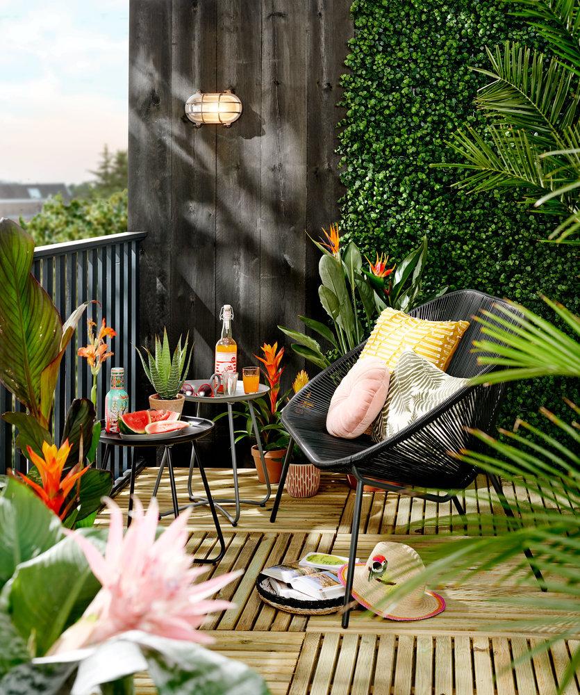 Inspiratie voor het balkon. Balkon inrichten #balkon #tuinmeubelen #karwei
