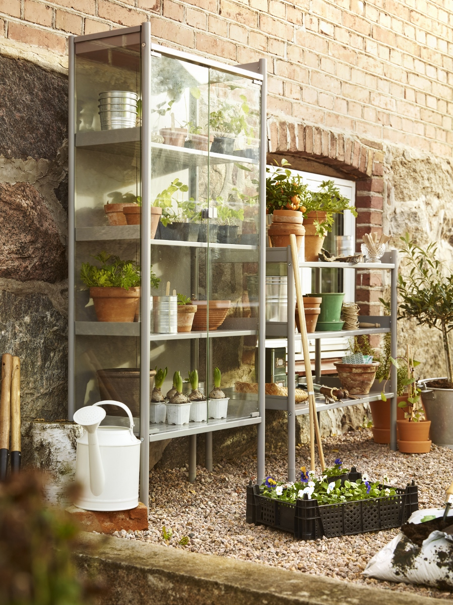 Plantenkas Hindö van Ikea #tuin