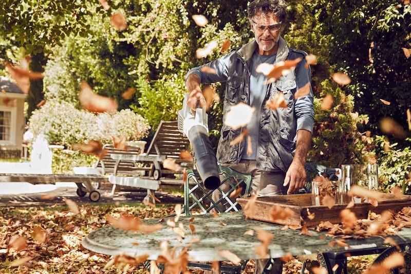 Bladblazer voor de tuin #bladblazer #stihl