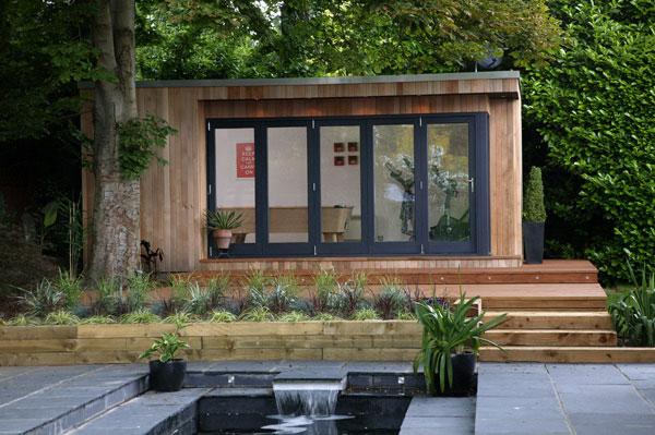Tuinkantoor tuinhuis guesthouse via a-tuinhuis