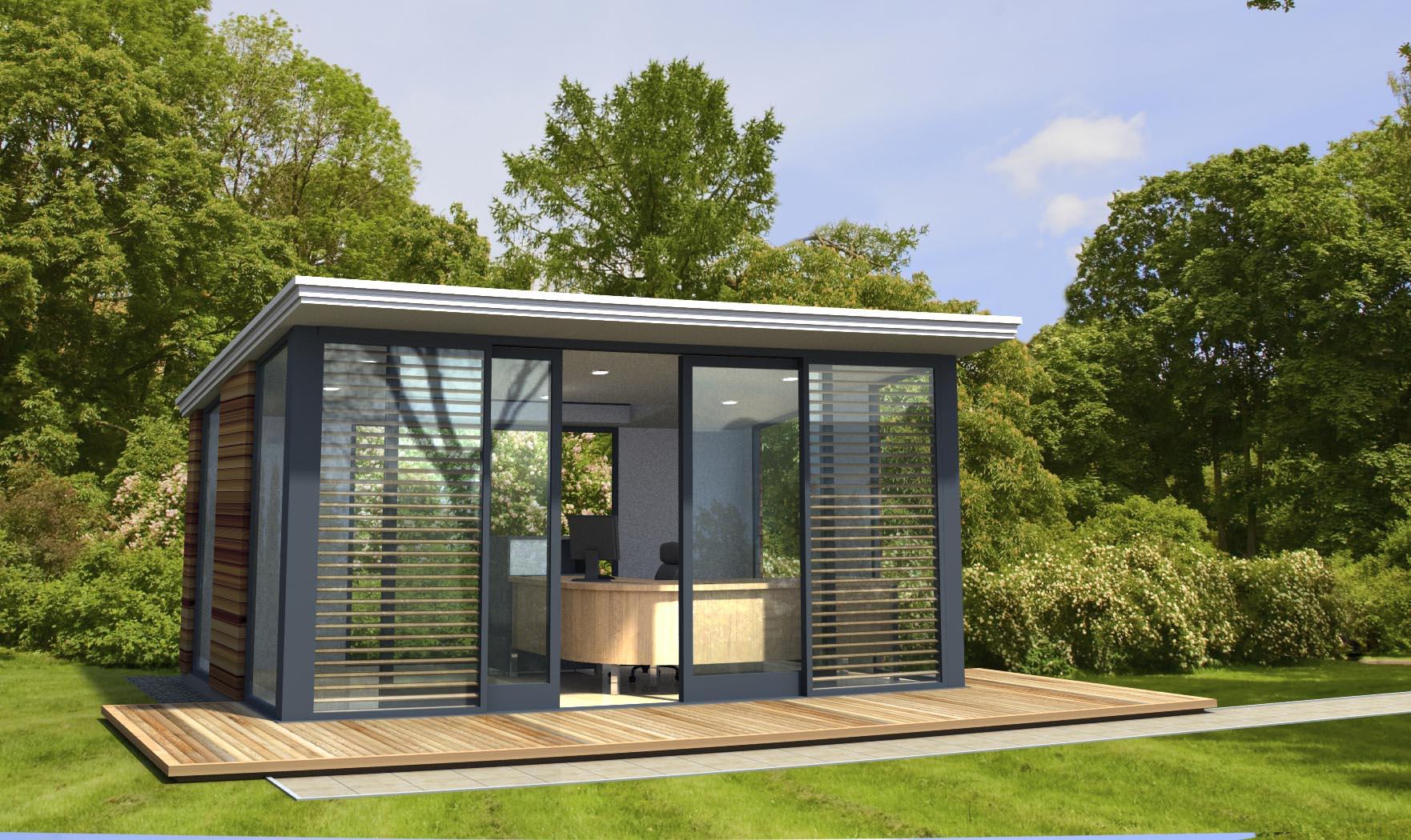 Tuinhuizen en schuren startpagina voor tuin idee n uw for Garden office design