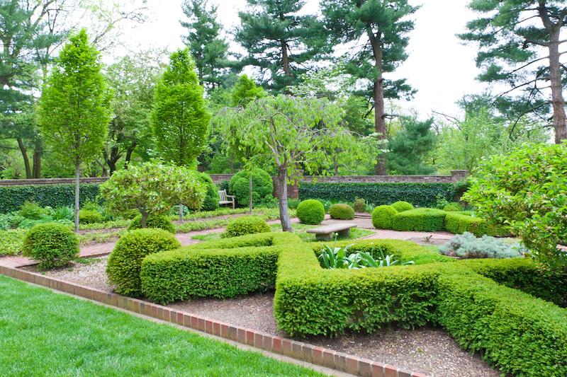 Tuinidee: groen tuinontwerp. Meer inspiratie vind je op het tuinidee 2018 tuinevent #tuinidee #tuin #tuinontwerp