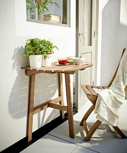 Ikea balkonmeubelen Askholmen