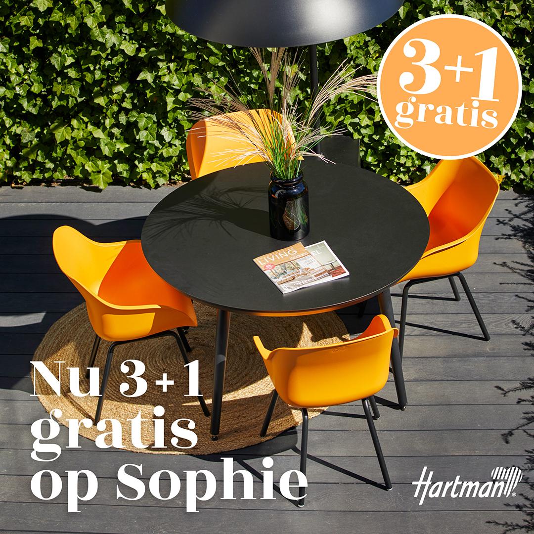 Hartman Sohie tuinstoel actie  #tuinmeubelen #tuinstoelen #stoel #tuininspiratie #tuinidee #hartman #sophie