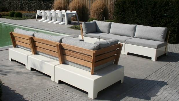 Trends in tuinmeubelen nieuws startpagina voor tuin idee n uw - Moderne hoek lounge ...