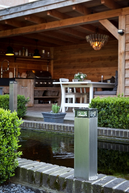 Snoerloze tuinverlichting op zonne-energie. Dutch Design van Gacoli