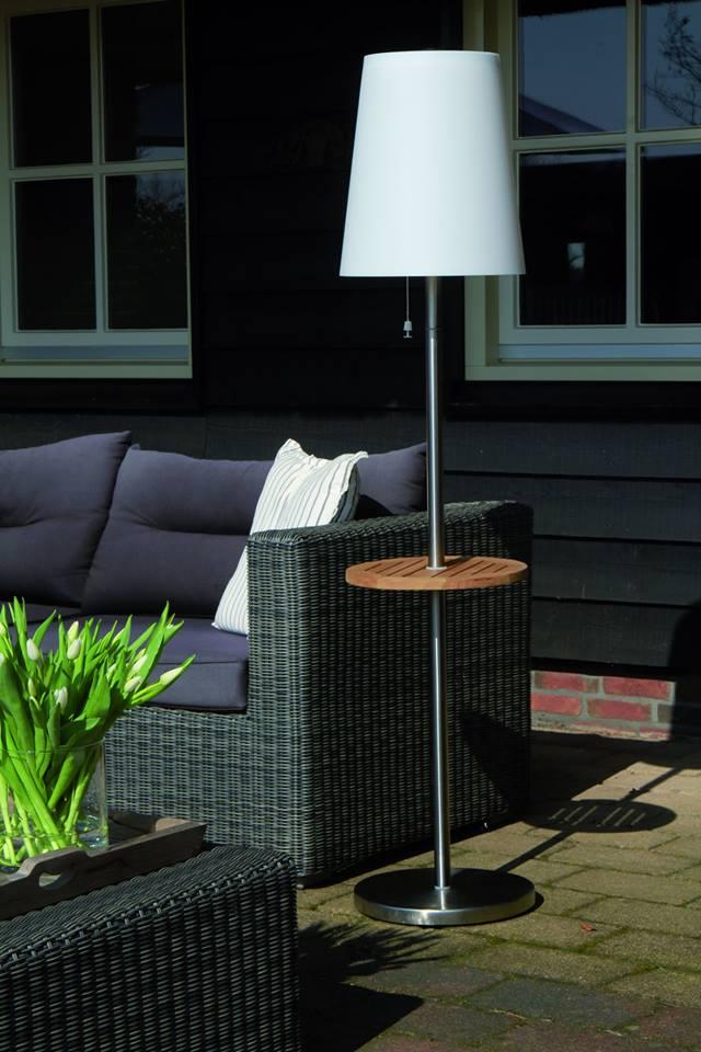 Snoerloze tuinverlichting. Staande lamp Roots op zonne-energie. Dutch Design van Gacoli