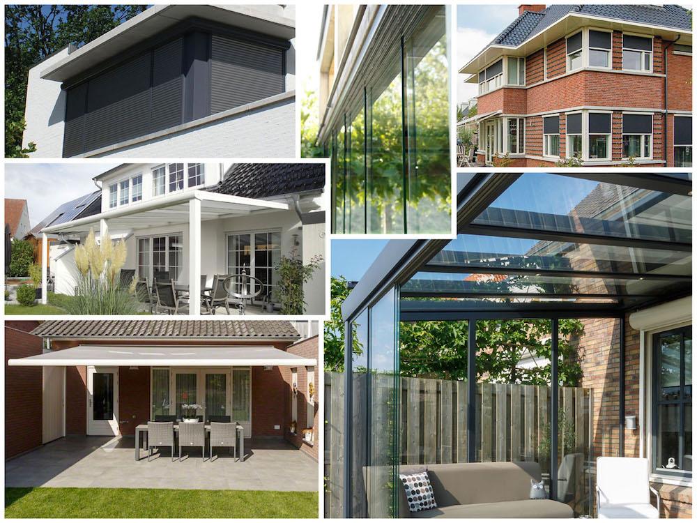 5 x tips bij het kiezen van zonwering voor je woning en tuin