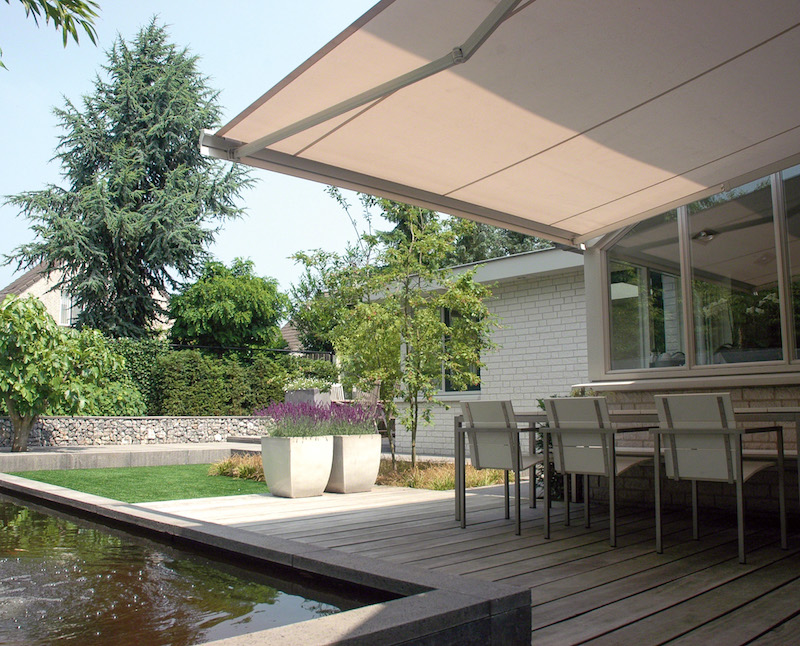 Zonnescherm Rhodos van Verano #tuin #verano #zonwering