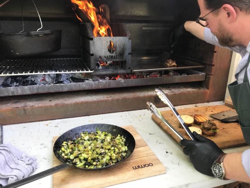 Barbecue trends van deze zomer met tips van Ron Blaauw en WWOO buitenkeukens #buitenkeuken #bbq #tuin