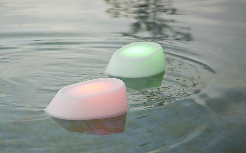 Waterdichte led-lampen voor in het zwembad en in de tuin - Umbrosa Etna via ZonZ