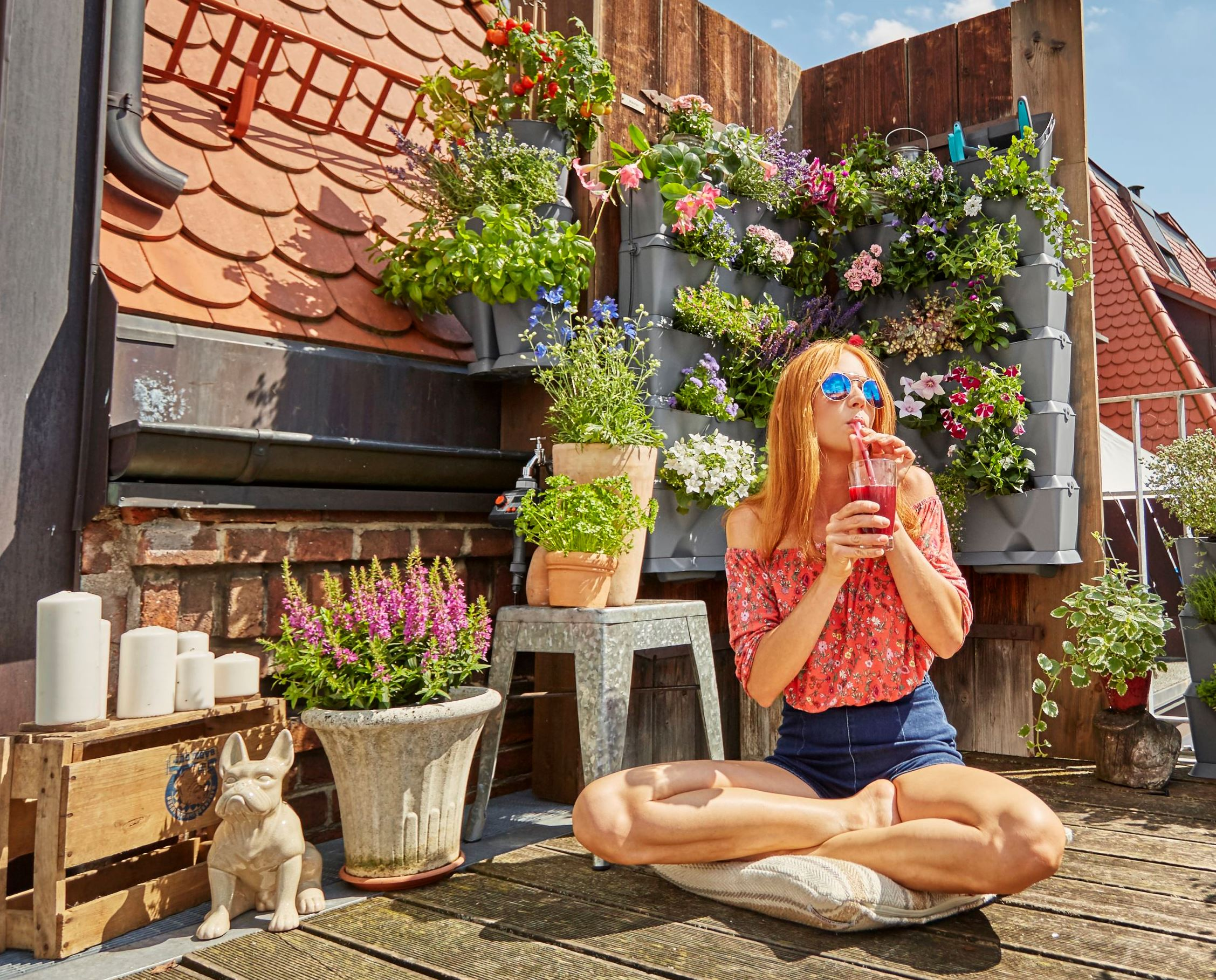 Tuinieren Op Balkon : Stapelbaar systeem voor verticaal tuinieren nieuws tuin ideeën
