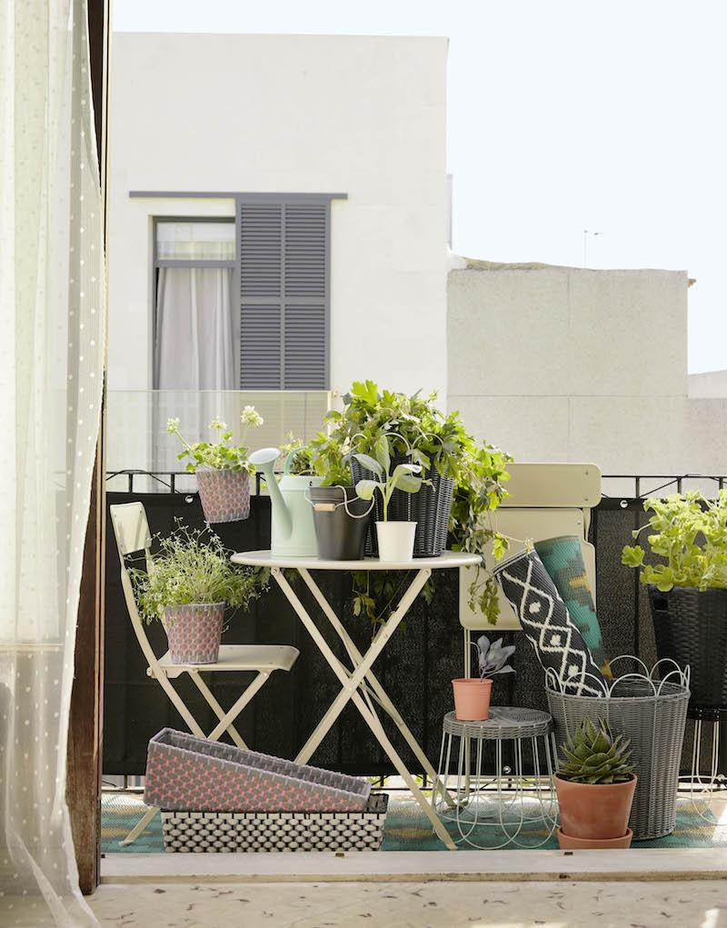 Nieuwe collectie 2017 voor de tuin en balkon van IKEA - tuinset