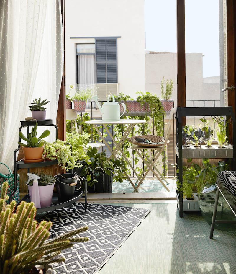 Nieuwe collectie 2017 voor de tuin en balkon van IKEA - tuinset tuinmeubels