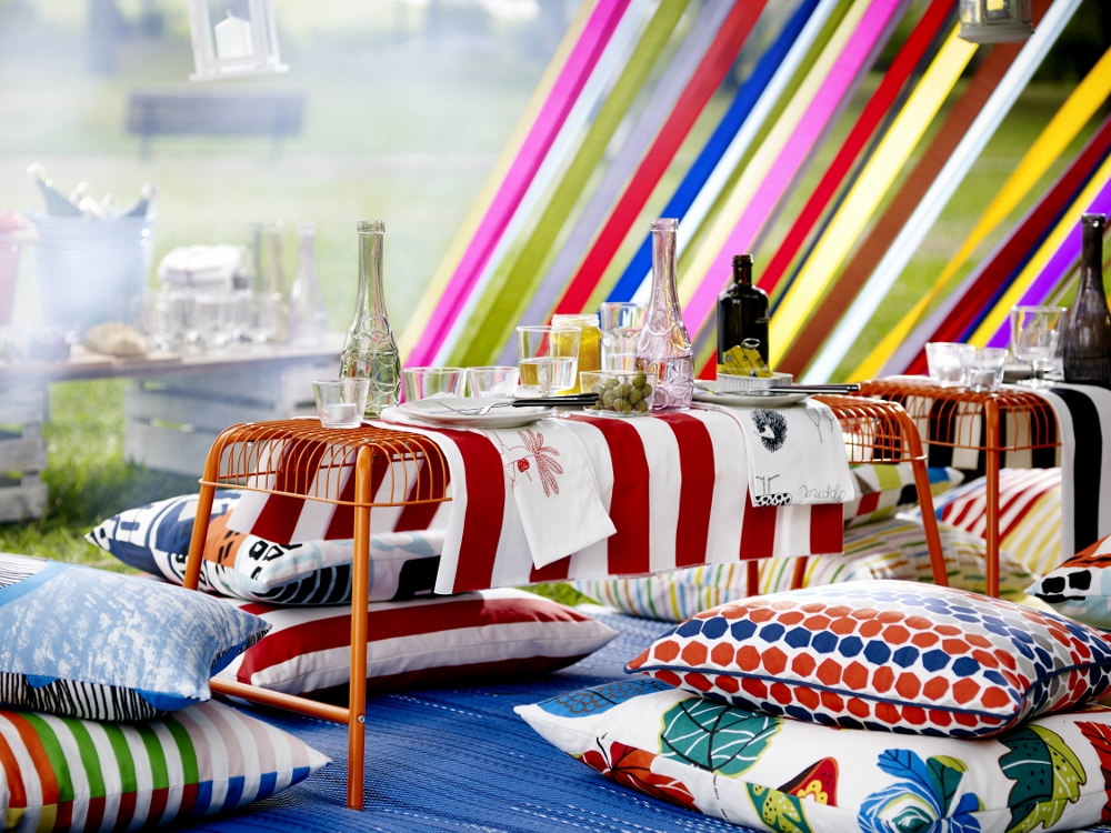 Kleurrijke producten voor de tuin deze zomer - Ikea collectie 2016