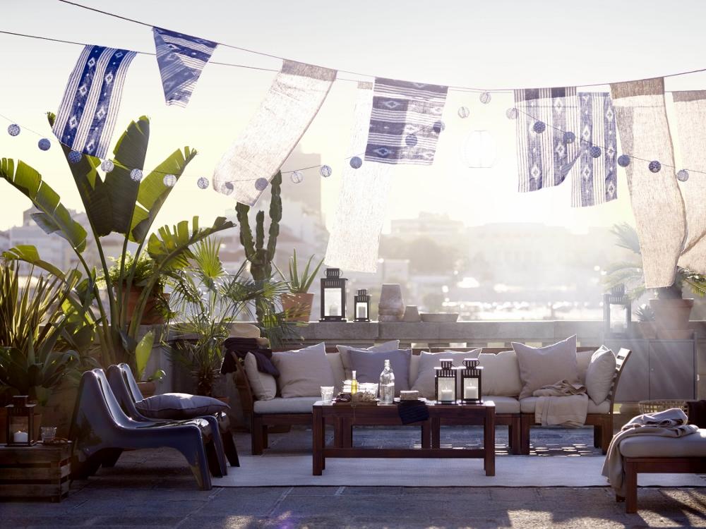 Tuinmeubels Applaro uit de 2016 collectie van Ikea voor tuin, terras en balkon