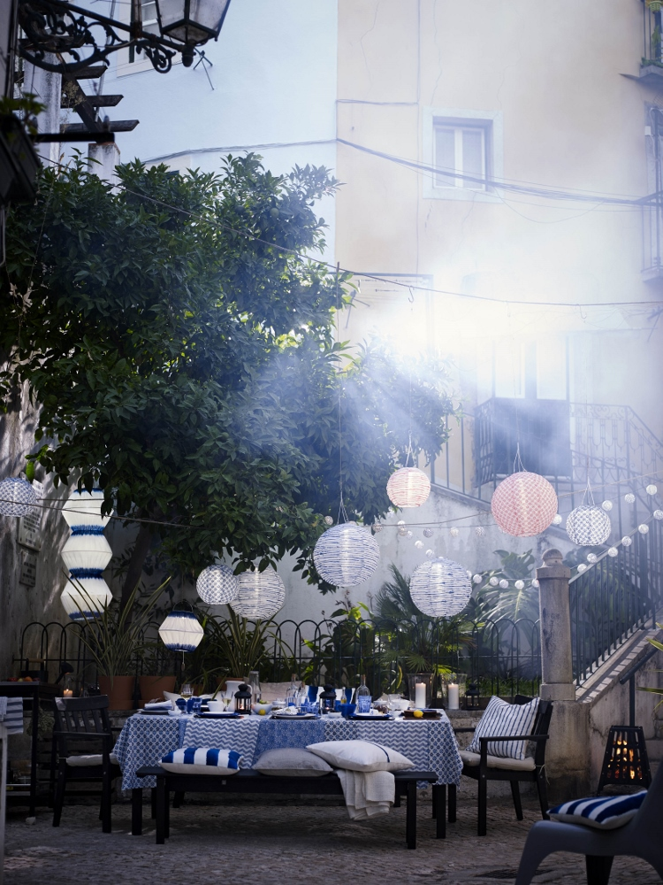 Ikea tuinverlichting op zonne-energie