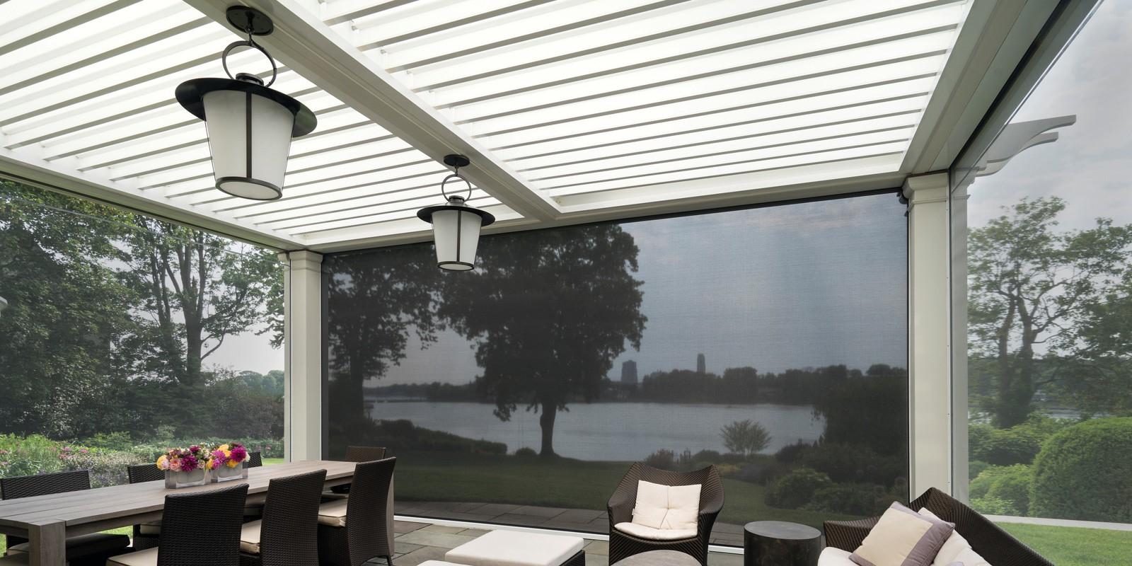 Stijlvol een lamellen overkapping voor terras of tuin nieuws startpagina voor tuin idee n - Fotos terras ...