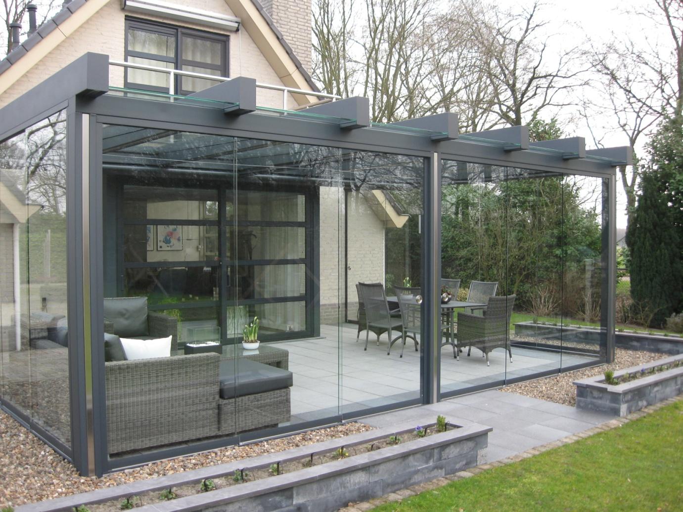 Stalen terrasoverkapping: staaltje van minimalisme nieuws