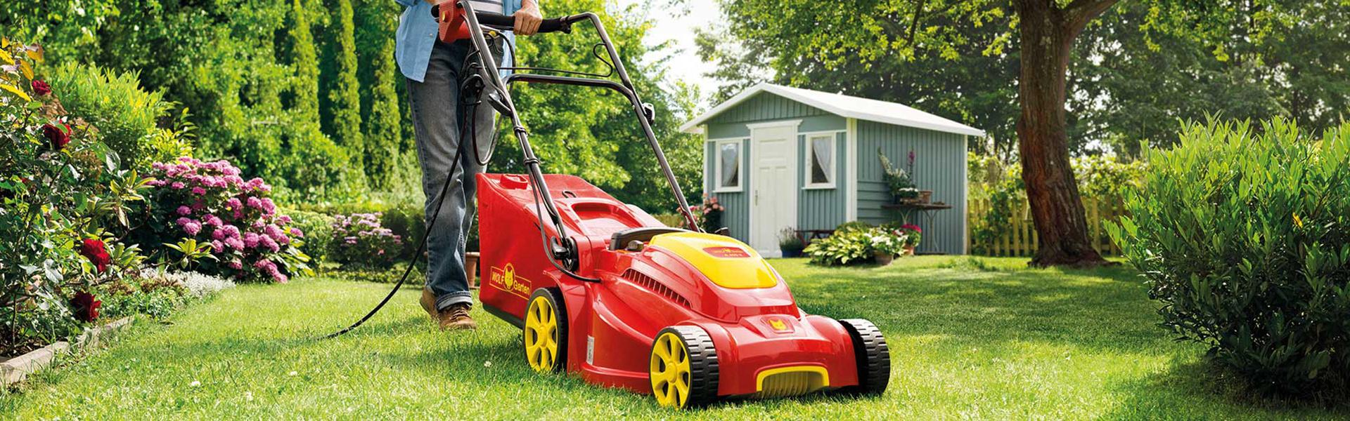Elektromaaier Wolf-Garten. Tuingereedschap, grasmaaiers, robotmaaiers, accumaaiers. Alle sover tuingereedschap #tuin #tuingereedschap #grasmaaiers