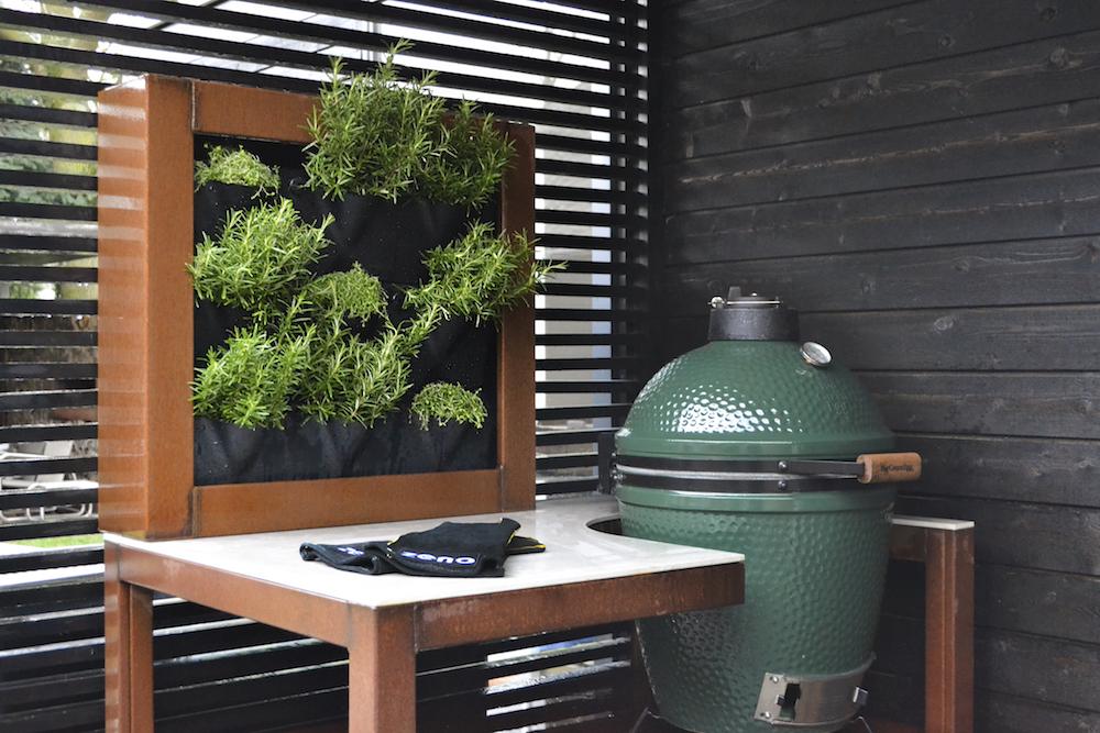 Zeno Green Wall: verticale tuin voor kruiden of moestuin. Ideaal voor balkon of terras #zeno #greenwall #kruidentuin #moestuin #terras
