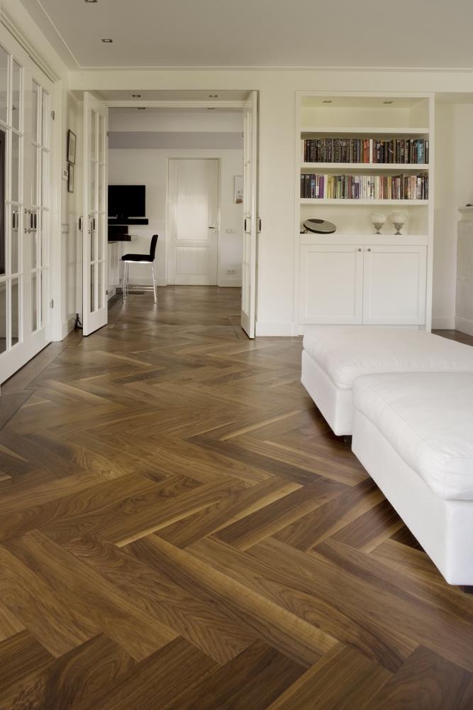 Inrichting Houten Vloer: 14x de charme van een witte houten vloer ...