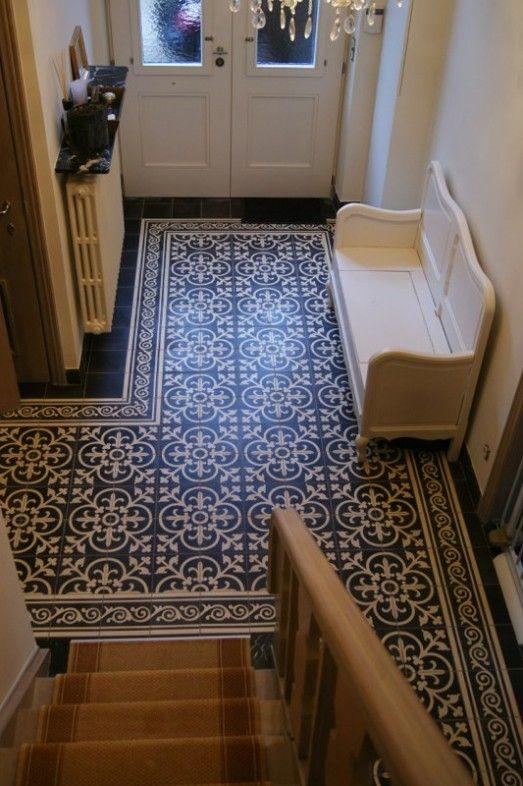 Sfeervolle vloeren van portugese cement tegels nieuws startpagina voor vloerbedekking idee n - Tegel patroon badkamer ...