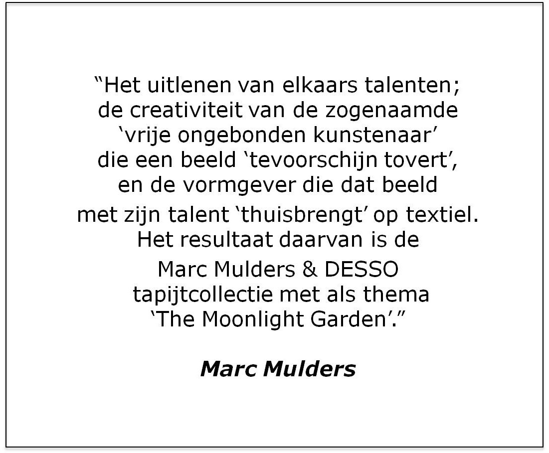 Desso Marc Mulder Quote